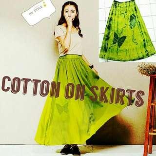 Butterfly Long Skirt
