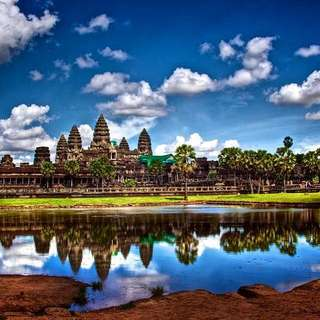 Traveling To Siem Reap Angkor Wat In Cambodia.