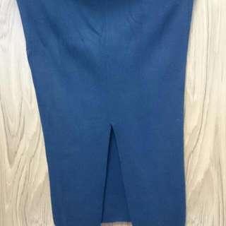 包臀分衩長裙