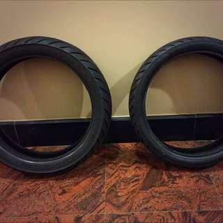 Stock Tyres Of Aprilia RS V4 125