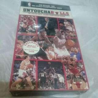 全新未拆 原裝1992年 NBA公牛隊 VHS錄影帶