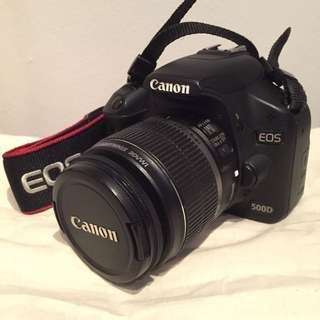Canon EOS500D (Updated)