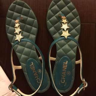 Chanel 星星涼鞋 全新39