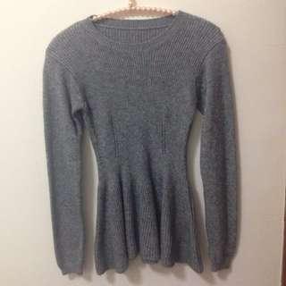 🚚 全新✨秋冬  灰色針織上衣
