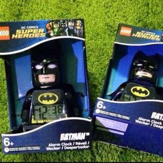正版樂高LEGO 蝙蝠俠 鬧鐘