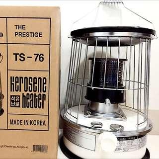 冷冬好物~韓國cookoo煤油爐暖器(TS-76/白) (含運)