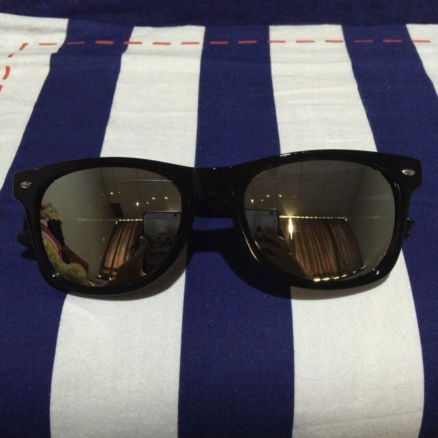 (含運)時尚反光太陽眼鏡(銀色)