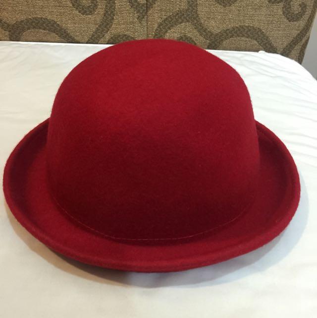 (保留)二手 毛呢小紅帽
