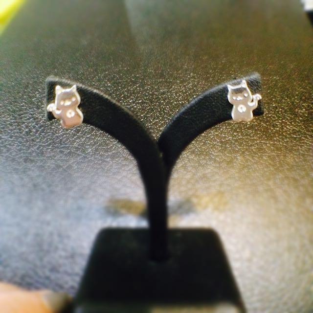 多款純銀耳環 項鍊