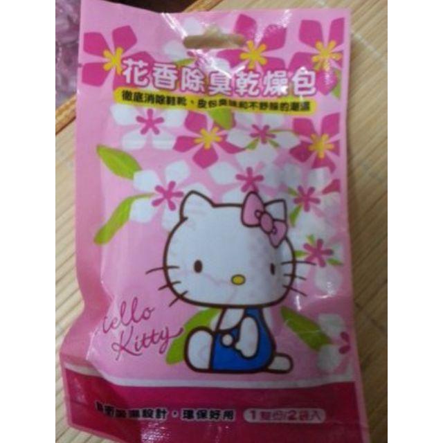 【正版授權 Kitty】 除臭乾燥包_淡雅花香_台灣製(一包2入)