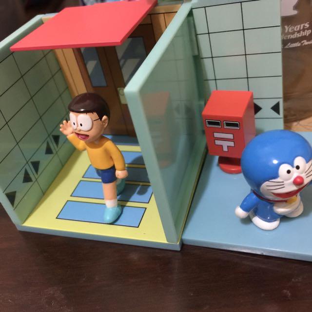 哆啦A夢扭蛋場景合售