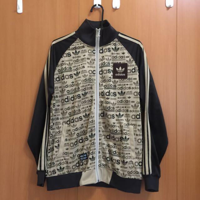 Adidas Original 褐色外套 M
