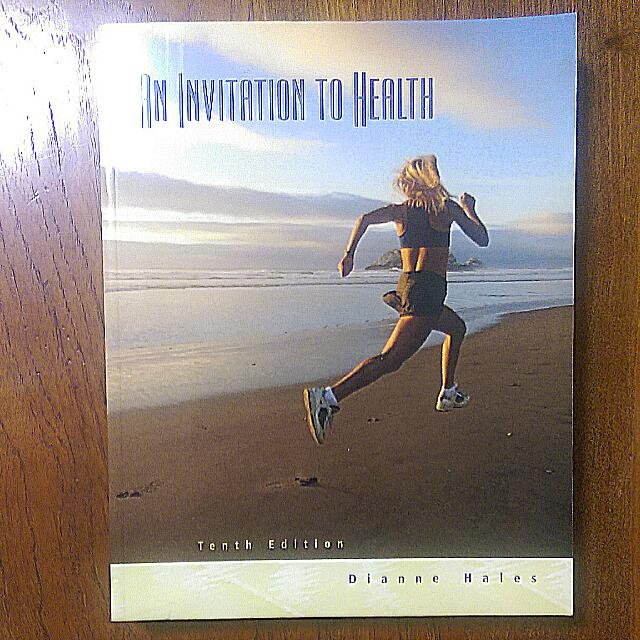 An invitation to health tenth edition by dianne hales textbooks on photo photo photo stopboris Gallery