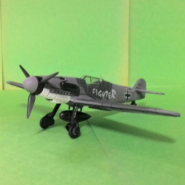 BF-109 戰鬥機 模型飛機