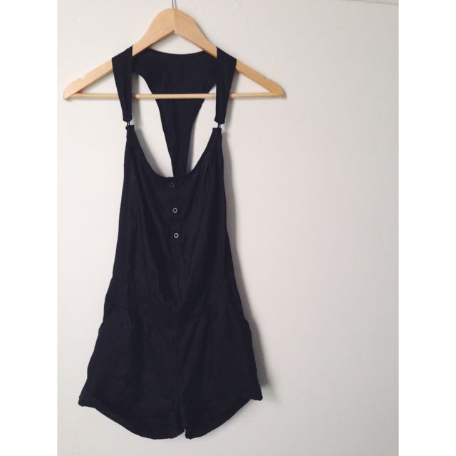➖Black Playsuit Size 6-8 ➖