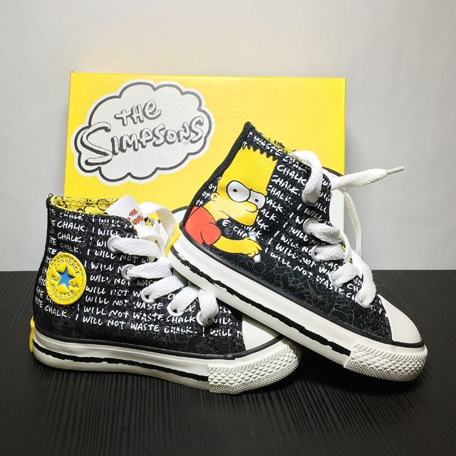 1f58959c34b4 Brand new Converse X Simpsons sneakers (US infant size 5)