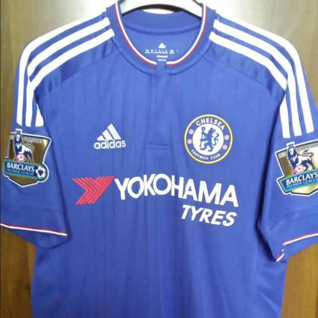 the best attitude a82d2 2d01f Chelsea FC 2015/16 Home Kit with Hazard Nameset and ...