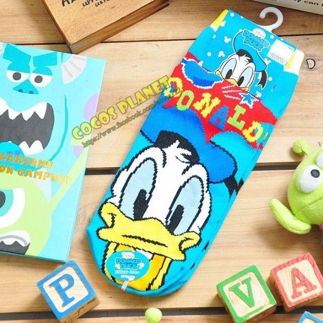COCOS JD038 迪士尼襪子 唐老鴨 短襪 造型襪 襪子 直版襪 22~24CM 台灣製造