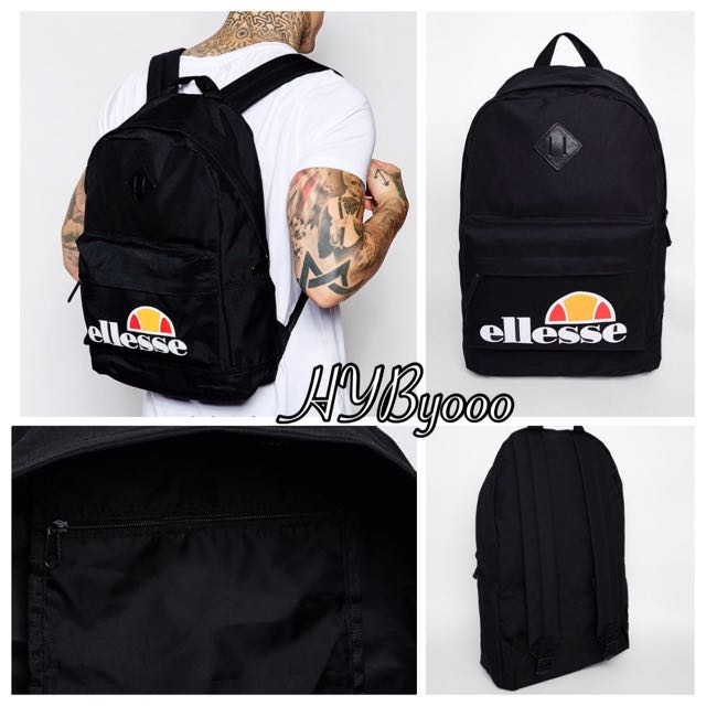 ELLESSE backpack 黑色後背包