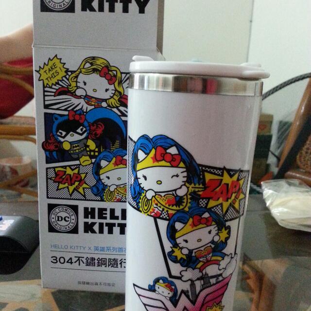 Kitty不鏽鋼隨行杯