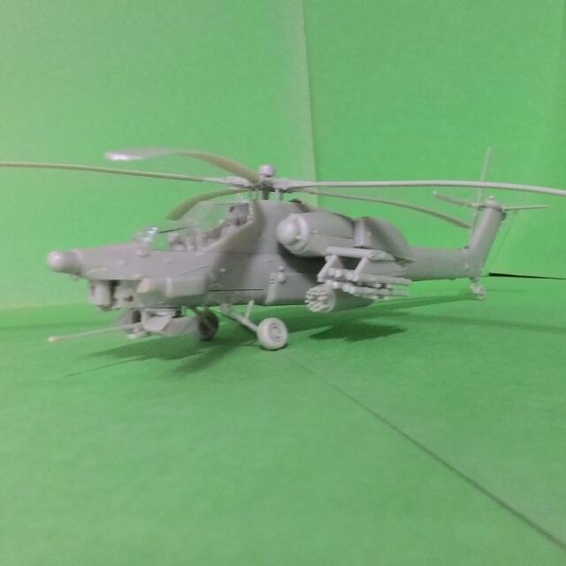 "MI-28 HAVOC 直昇機模型""面交限定"""