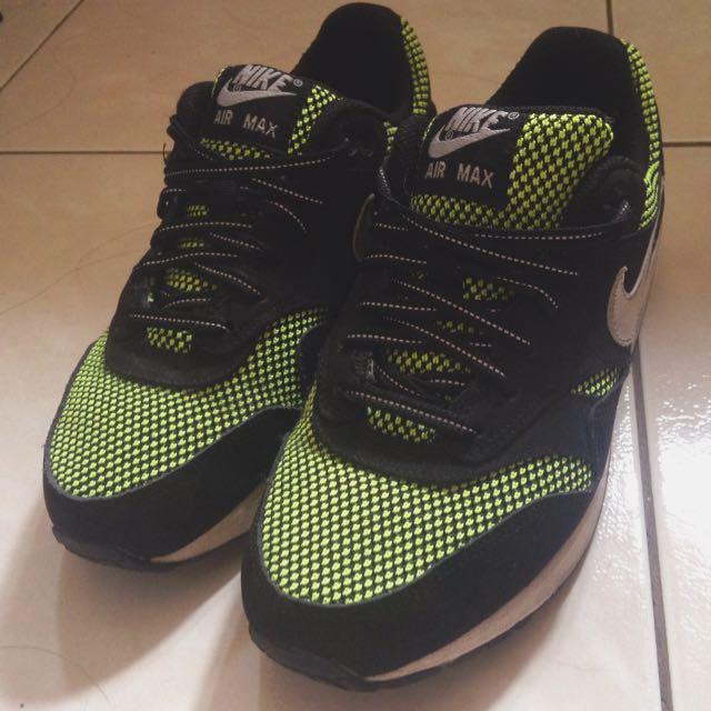 💃🏻nike air max黑黃銀勾鞋鞋(含運)✨