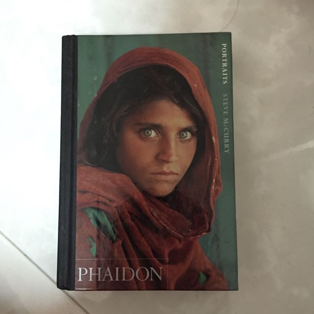 Portraits By Steve McCurry Books Stationery On Carousell