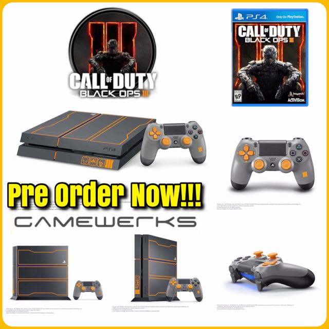Ps4 1tb Cod Black Ops 3 Bundle Mens Fashion On Carousell