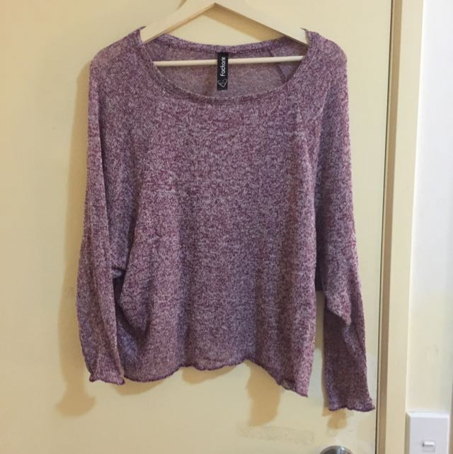 Purple Factorie Top