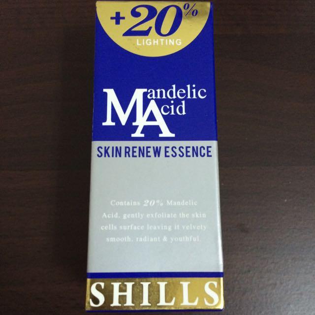SHILLS杏仁酸20%完美換膚精華