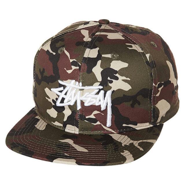 Stussy Snapback Hat - Camo 990b60e92ff
