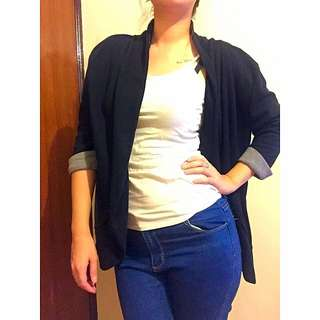 Zara 黑色罩衫