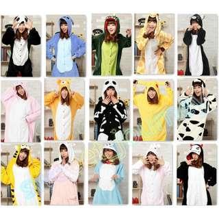 【PO】 Onesie cute animal pyjamas