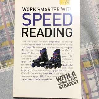 Work Smarter With Speed Reading