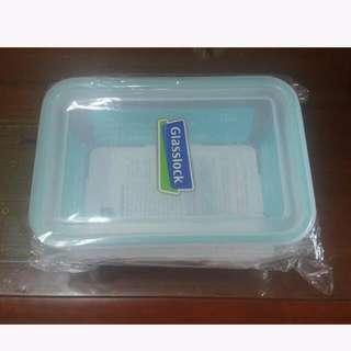 全新 Glasslock 玻璃保鮮盒 1900ml