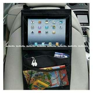 (全新)車用置物袋&ipad掛袋