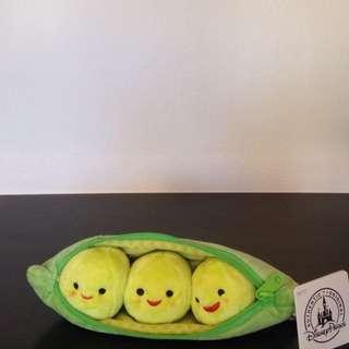 加州迪士尼 玩具總動員 豆子 三胞胎