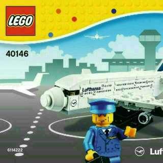 LEGO 40416 Exclusive Lufthansa A380 Polybag Set