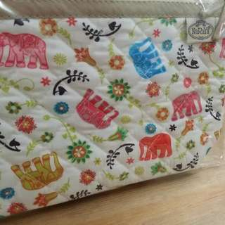 Brand New Naraya Cosmetic Pouch With Zip