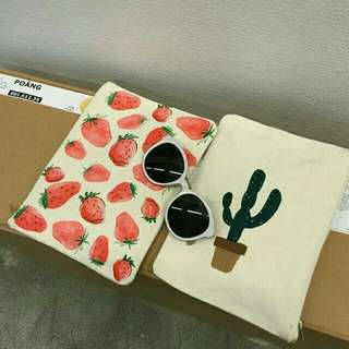 韓國仙人掌草莓小包
