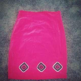 Beautiful Red Skirt