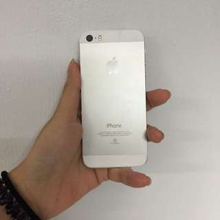 I Phone 5s 32g 銀 (未過保)