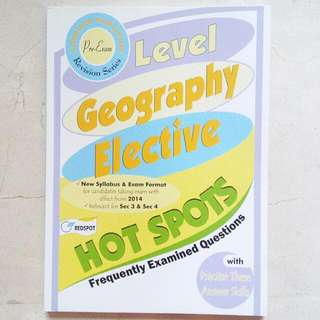 [BN] Geography Elective Notes/ Assessment Book