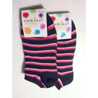 COCO BEAR-色彩襪