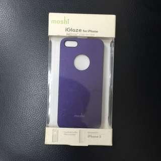Moshi Iphone5 紫色殼