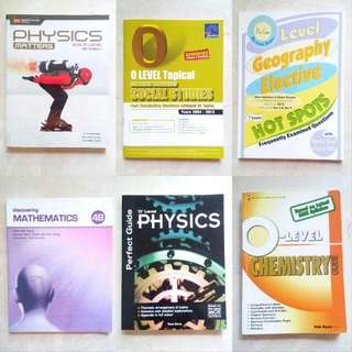 Sec 4 / Sec 3 Books!!