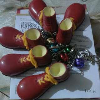 🆕限量麥當勞鞋子磁鐵吊飾(含鈴鐺)
