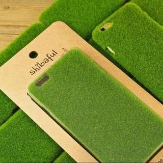日本 iPhone 6  4.7寸 手機殼 草皮 大自然