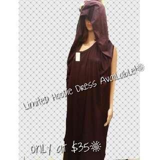 New Hoddie Long Dress (Limited)