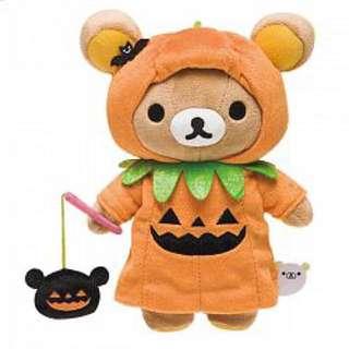日本萬聖節限定拉拉熊